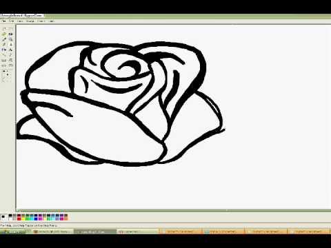 Jak narysować róże?