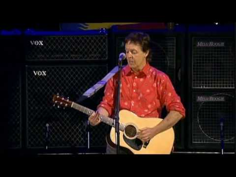 Paul McCartney - Blackbird (Live)