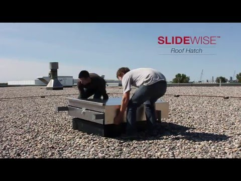 Slidewise Roof Hatch: The smartest, most reliable hatch for your roof.
