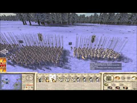 Rome Total War Online Battle #2040: six-player free-for-all  (live-commentary)