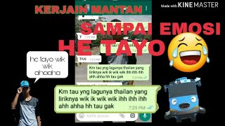 TEXT PRANK!!MANTAN SAMPAI EMOSI|RIDHO GAME