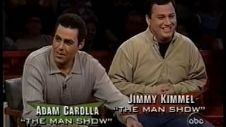 """""""Politically Incorrect"""" with Bill Maher   24 May 1999   Adam Carolla & Jimmy Kimmel vs. The Rules"""