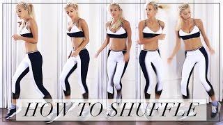HOW TO SHUFFLE DANCE | Evelina