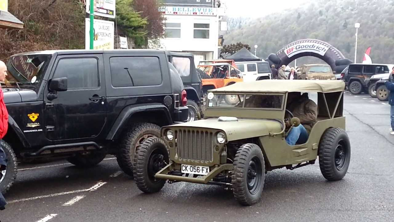 jeep willys m201 rat 39 s chambon sur jeep youtube. Black Bedroom Furniture Sets. Home Design Ideas