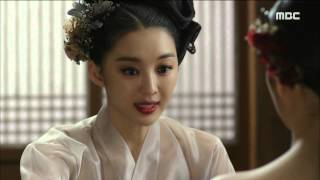 [Scholar Who Walks The Night] 밤을 걷는 선비 17회 - Jang Hee-jin advises 20150902
