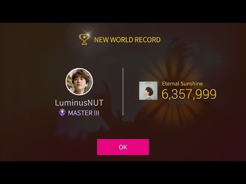 Superstar SMTown - World Record #1 - Kyuhyun - Eternal Sunshine (Hard)