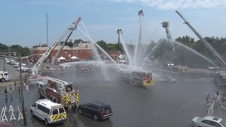 Syosset,NY Fire Department TL 582 Dedication & Wetdown  7/30/16