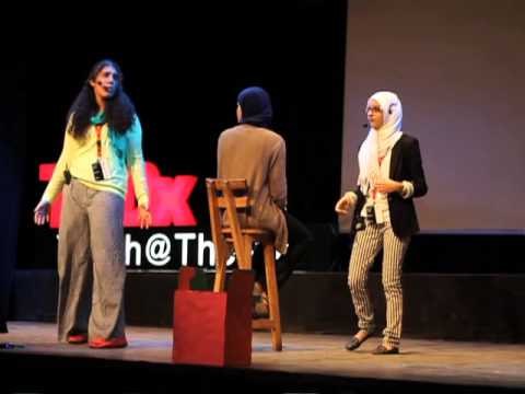 Logic Vs. Imagination: Salma Ehab & Mariam Ezzat At TEDxYouth@TheNile - Smashpipe Nonprofit