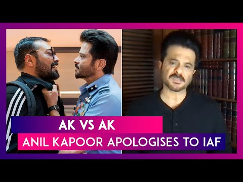 Anil Kapoor apologises after IAF raises objections
