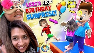 Lexi's 12th Birthday! FUNnel Boy is REAL!!! (FUNnel V Fam vlog)