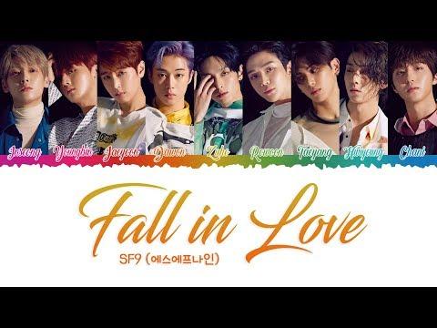 SF9 (에스에프나인) - 'Fall In Love' (HAN|ROM|POL Color Coded Lyrics)