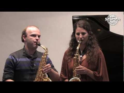 Saxophone Masterclass for Classical Saxophone in Laubach - supported by SELMER Paris