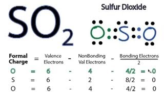 SO2 Lewis Structure - How to Draw the Lewis Structure for SO2 (Sulfur Dioxide)