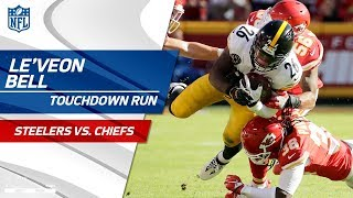 Le'Veon Bell Carries Pittsburgh for Huge TD Drive! | Steelers vs. Chiefs | NFL Wk 6 Highlights