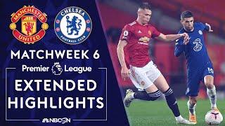Manchester United v. Chelsea   PREMIER LEAGUE HIGHLIGHTS   10/24/2020   NBC Sports