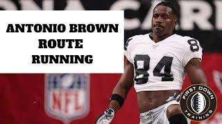 ANTONIO BROWN ROUTE RUNNING  - Oakland Raiders -  NEW 2019