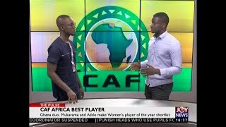 CAF Africa Best Player – The Pulse Sports on JoyNews (14-12-18)