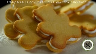 Teddy Bear Marshmallow Cookie Sandwich – Bruno Albouze – THE REAL DEAL