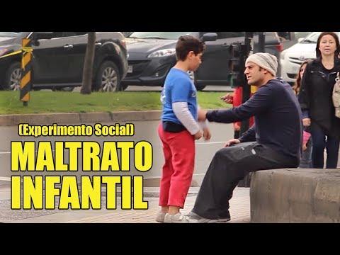 Maltratos Infantiles   Experimento Social - La Vida Del Desvelado