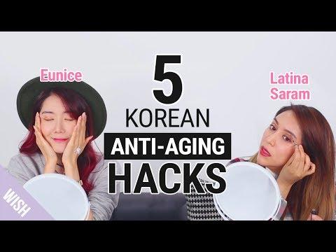 5 Korean Anti Aging Hacks   feat Latina Saram   Wishtrend