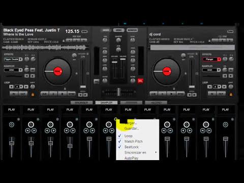 como agregar y descargar samples al virtual dj home 7