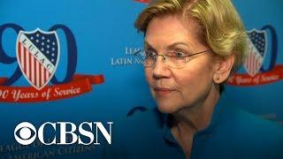 Warren says female accuser of Air Force general should testify