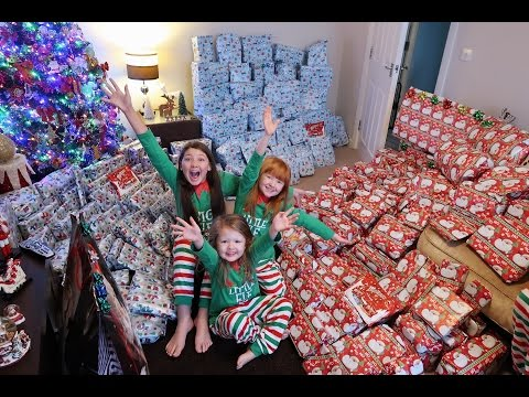 CHRISTMAS MORNING SPECIAL OPENING PRESENTS BRINGS TEARS | PART 1