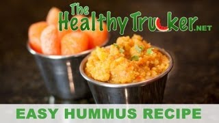 Healthy Hummus for Truck Drivers - Healthy Trucker