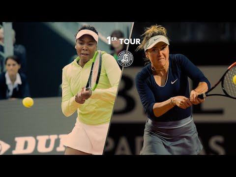 Roland-Garros 2019 : Le résumé de Williams - Svitolina