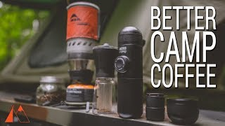 How to Make Coffee While Camping: Wacaco MiniPresso
