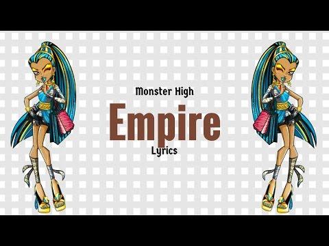 Monster High Empire Lyrics