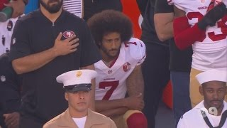 Athletes Join Colin Kaepernick By Refusing To Stand During the National Anthem