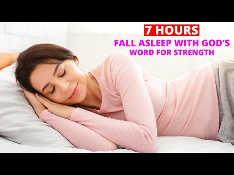 Fall Asleep With God's Word and Renew Your Strength (Bible Verses To End Your Day)