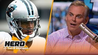 Colin Cowherd compares Cam Newton to Russell Westbrook, talks Andrew Luck for MVP   NFL   THE HERD