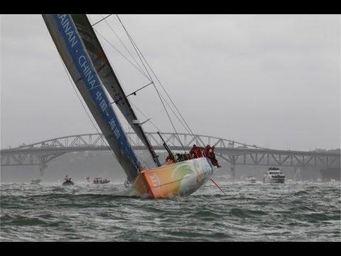 Volvo Ocean Race - Leg 5 Start Live Replay 2011-12