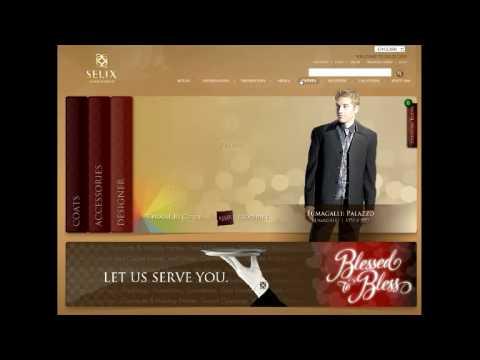 New Website Overview -- Top Menu