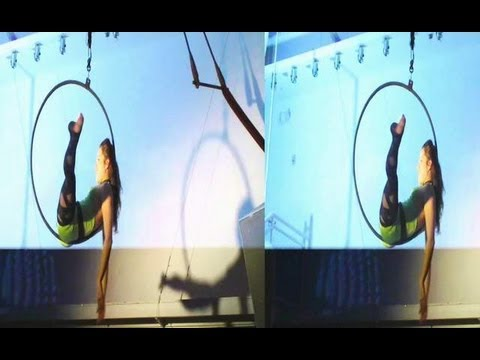 Acrobatic Show at Gogobot Holiday Party (YT3D:Enabled=True)