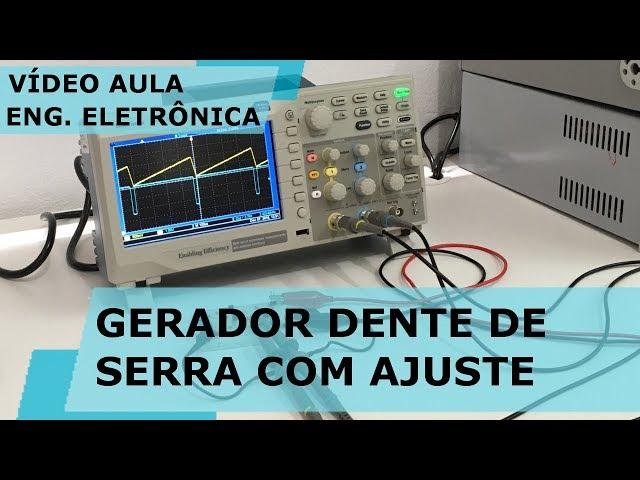 GERADOR DENTE DE SERRA COM AJUSTE DE SIMETRIA | Vídeo Aula #251