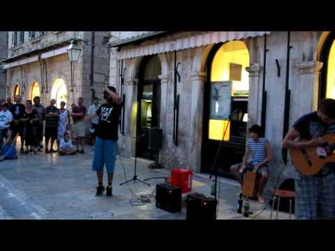 Bella ciao - Uzivo na ulicama Dubrovnika (Stradun)