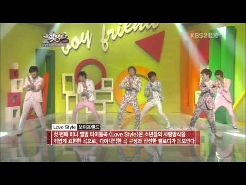 (120615)(HD) Boyfriend - One Day + Love Style (Comeback Stage)