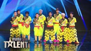 Feng Yi: Auditions | Myanmar's Got Talent 2018