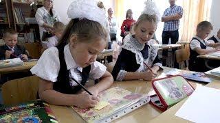 Будущие первоклассники совершили первое путешествие в «Страну знаний».