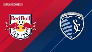 HIGHLIGHTS: New York Red Bulls vs. Sporting Kansas City | July 14, 2018