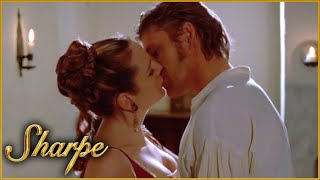 Sharpe And Lady Anne Share A Kiss   Sharpe
