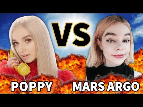 POPPY VS MARS ARGO   VERSUS   BeforeThey Were Famous
