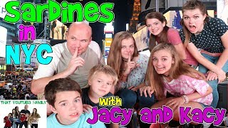 SARDiNES Hide And Seek IN NEW YORK CITY Mystery Players!/ That YouTub3 Family Family Channel