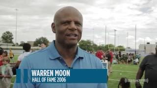 NFL legends Warren Moon, Joe Namath and others on making the Pro Football Hall of Fame