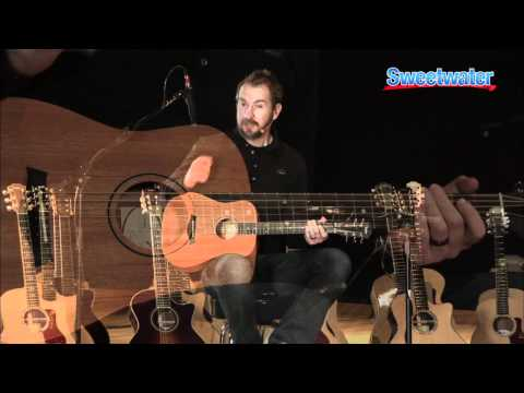 Taylor Guitars Baby Taylor Acoustic Guitar Demo - Sweetwater Sound