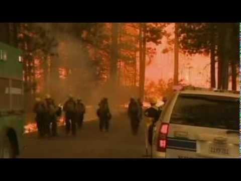 Чрезывчайное положение введено в Калифорни из-за пожаров