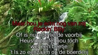Ria Valk  - Hou je echt nog van mij Rockin Billy ( KARAOKE ) Lyrics